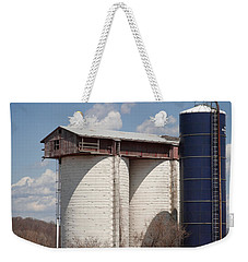 Silo House With A View - Color Weekender Tote Bag