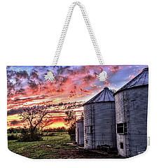 Silo Sunset Weekender Tote Bag