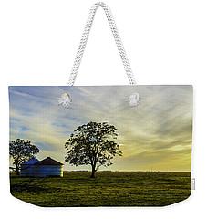 Silos At Sunset Weekender Tote Bag
