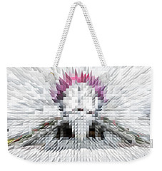 Silver Cotton Candy Weekender Tote Bag
