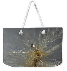 Silver Drops Weekender Tote Bag