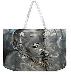 Portrait - ' Silver Flight ' Weekender Tote Bag