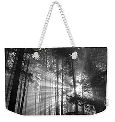 Silver Light Weekender Tote Bag