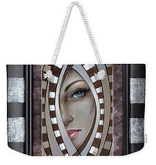 Silver Memories 220414 Framed Weekender Tote Bag