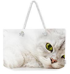 Silver Shaded Persian Weekender Tote Bag by Carsten Reisinger