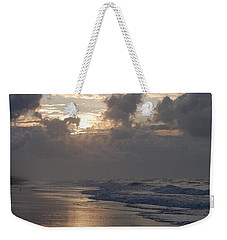 Silver Sunrise Weekender Tote Bag by Mim White