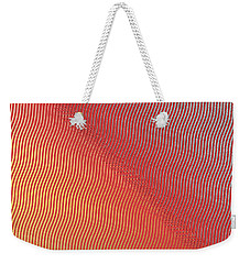 Silver To Gold Weekender Tote Bag