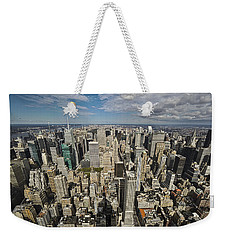 Sim City Weekender Tote Bag by Mihai Andritoiu