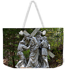 Simon Helps Jesus Weekender Tote Bag