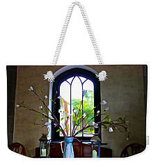 Weekender Tote Bag featuring the photograph Simple Elegance by Charlie and Norma Brock
