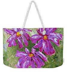 Simple Flowers Weekender Tote Bag