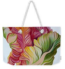 Simple Tulip Weekender Tote Bag