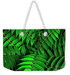 Simplicity Weekender Tote Bag by Roselynne Broussard