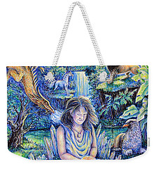 Simply Elemental Weekender Tote Bag