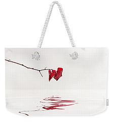 Simply Leaves Weekender Tote Bag