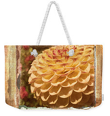 Simply Moments - Flower Art Weekender Tote Bag by Jordan Blackstone