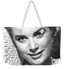 Simply Stunning Grace Kelly Weekender Tote Bag by Florian Rodarte