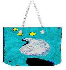 Simply Turquoise Weekender Tote Bag