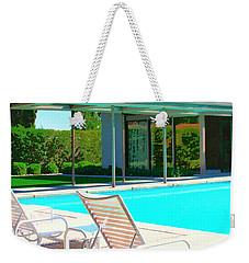 Sinatra Pool Palm Springs Weekender Tote Bag by William Dey
