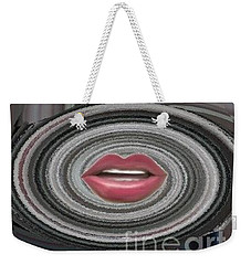 Weekender Tote Bag featuring the digital art Sing by Catherine Lott