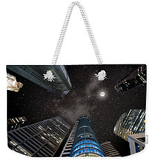 Singapore Moon Sky Weekender Tote Bag