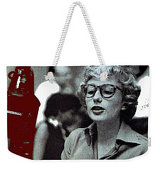 Singer Pianist Blossom Dearie  No Known Date Weekender Tote Bag