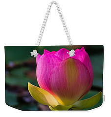 Single Blossum Weekender Tote Bag
