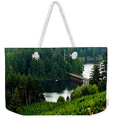 Single Boat Weekender Tote Bag by Katie Wing Vigil