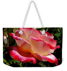Single Rose Weekender Tote Bag by Pamela Walton