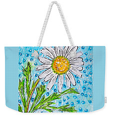 Single Summer Daisy Weekender Tote Bag
