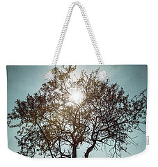Single Tree Weekender Tote Bag by Carlos Caetano