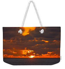 Weekender Tote Bag featuring the photograph Sinking In The Sea by Greg Norrell
