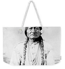 Sioux Chief Sitting Bull Weekender Tote Bag