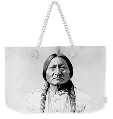 Sioux Chief Sitting Bull Weekender Tote Bag