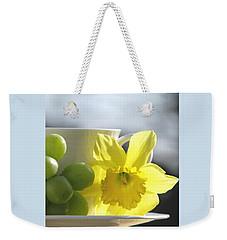 Sipping Spring Weekender Tote Bag