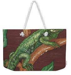 Sir Iguana Weekender Tote Bag