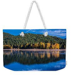 Siskiyou Lake Shoreline Weekender Tote Bag