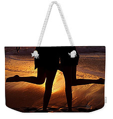 Sister Sunset Weekender Tote Bag by Kerri Mortenson