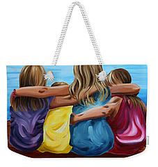 Sisters Weekender Tote Bag