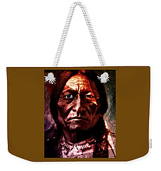 Sitting Bull - Warrior - Medicine Man Weekender Tote Bag