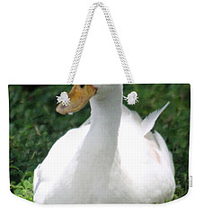 Sitting Duck Weekender Tote Bag by Pamela Walton