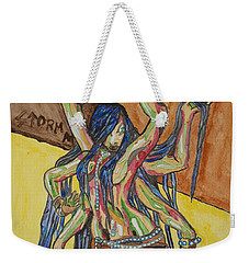 Six Armed Goddess Weekender Tote Bag