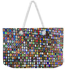 Six Hundred Rectangles Weekender Tote Bag