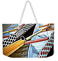 Six Sixteen Dragon Boat Weekender Tote Bag