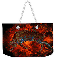 Sizzle Weekender Tote Bag by Stuart Turnbull