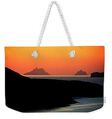 Skellig Islands  Weekender Tote Bag