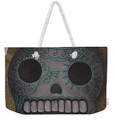 Skelly With A Heart Weekender Tote Bag by Abril Andrade Griffith