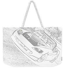 Sketched S2000 Weekender Tote Bag