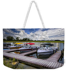 Ski Nautique Weekender Tote Bag by Debra and Dave Vanderlaan