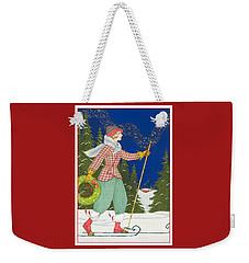 Ski Vogue Weekender Tote Bag